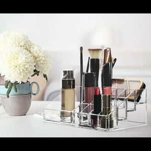 Other - Clear Lipstick & make up organizer